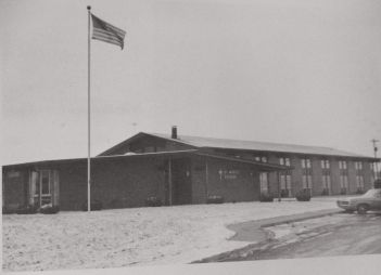 St. Mary's Original School, c. 1966, from yearbook